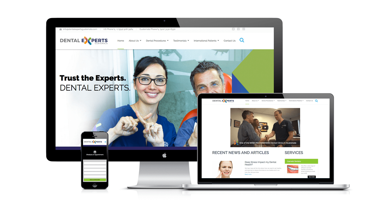 dental-Experts-website-design